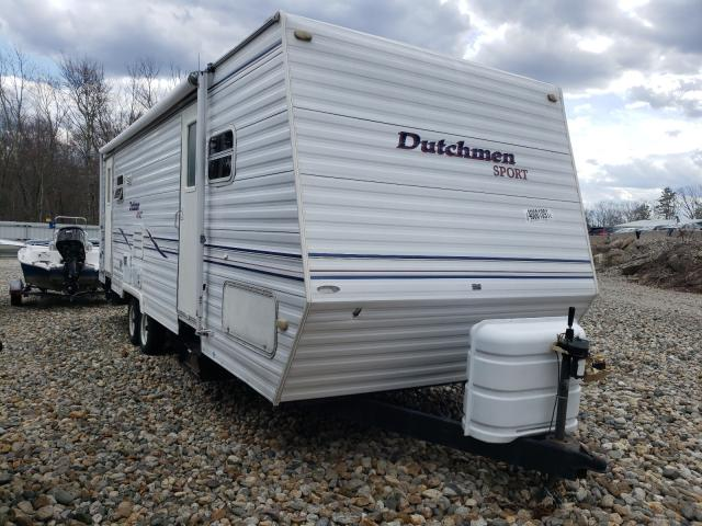 Dutchmen salvage cars for sale: 2001 Dutchmen Trailer