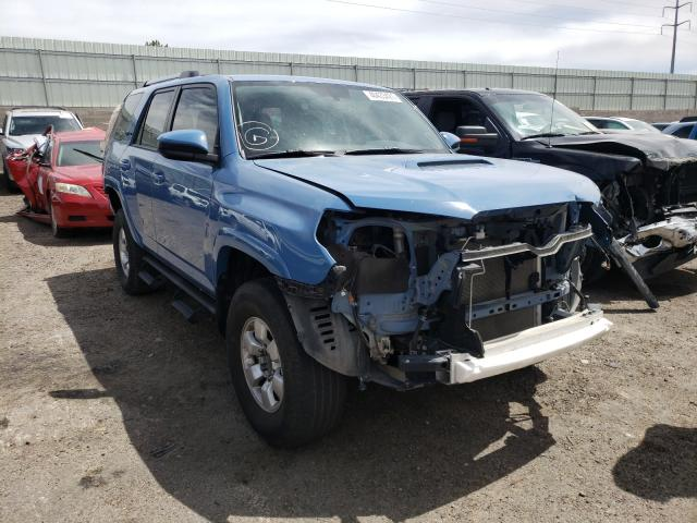 Salvage cars for sale from Copart Albuquerque, NM: 2018 Toyota 4runner SR