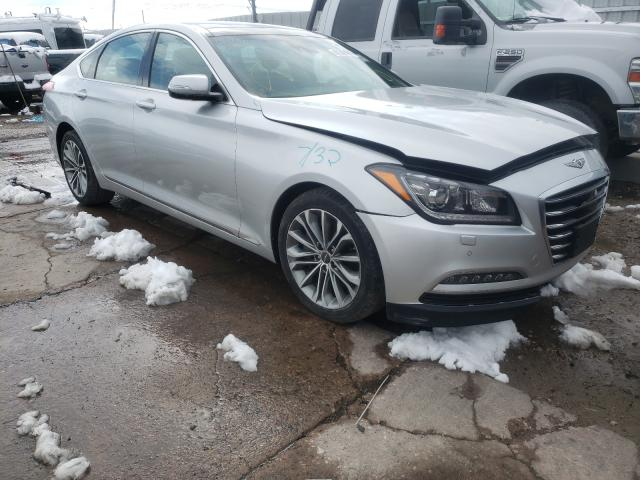 Genesis salvage cars for sale: 2017 Genesis G80
