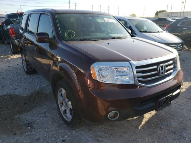 Salvage cars for sale from Copart Haslet, TX: 2013 Honda Pilot Exln