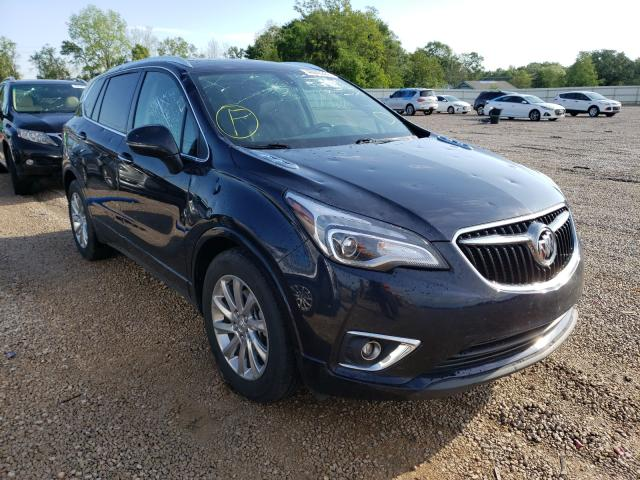 Salvage cars for sale from Copart Theodore, AL: 2020 Buick Envision E