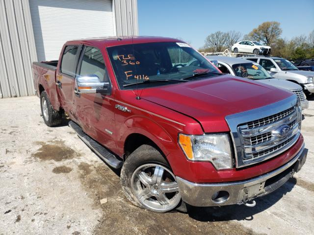 Salvage cars for sale from Copart Rogersville, MO: 2013 Ford F150 Super