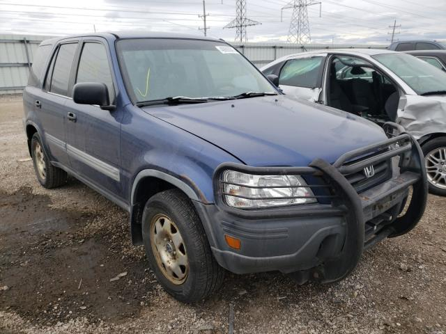 Salvage cars for sale from Copart Elgin, IL: 1998 Honda CR-V LX