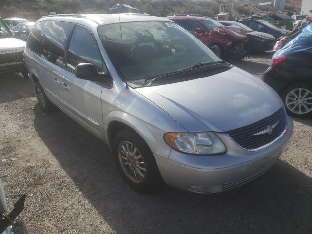 Salvage cars for sale from Copart Reno, NV: 2002 Chrysler Town & Country