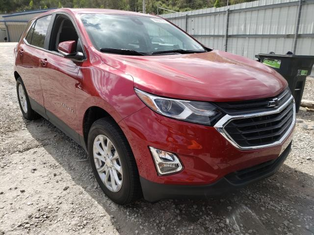 Salvage cars for sale from Copart Hurricane, WV: 2021 Chevrolet Equinox LT