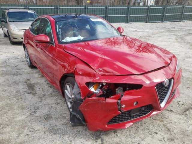 Alfa Romeo salvage cars for sale: 2019 Alfa Romeo Giulia