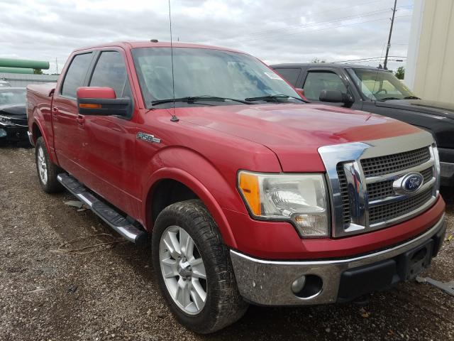 Salvage trucks for sale at Houston, TX auction: 2010 Ford F150 Super