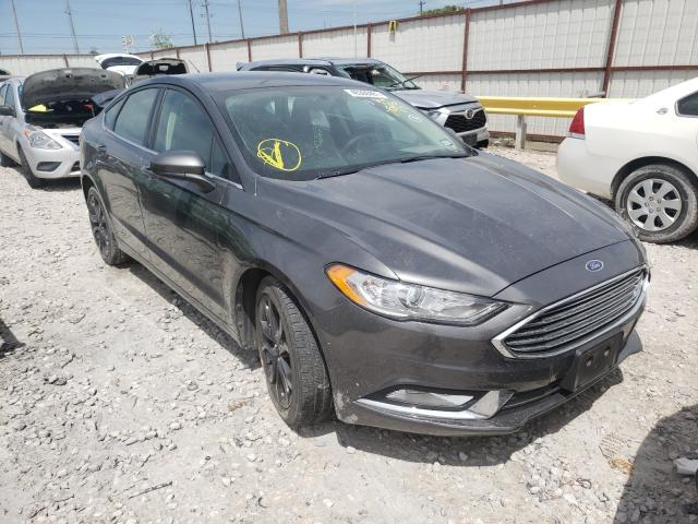 Salvage cars for sale from Copart Haslet, TX: 2018 Ford Fusion SE