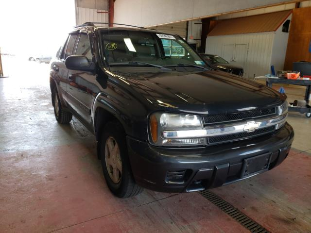 Salvage cars for sale from Copart Angola, NY: 2003 Chevrolet Trailblazer