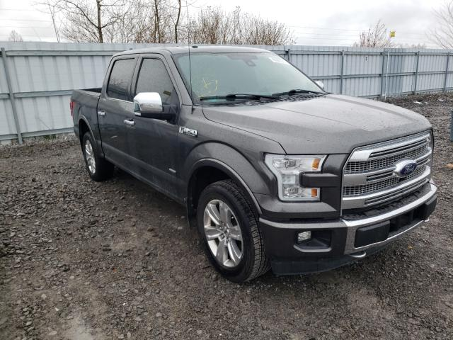 Salvage cars for sale from Copart Ontario Auction, ON: 2015 Ford F150 Super