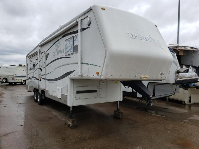 Jayco Designer salvage cars for sale: 2004 Jayco Designer