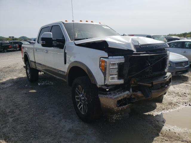 Ford F350 salvage cars for sale: 2018 Ford F350