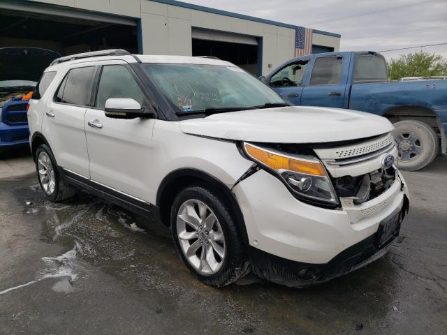 Salvage cars for sale from Copart Anthony, TX: 2011 Ford Explorer L