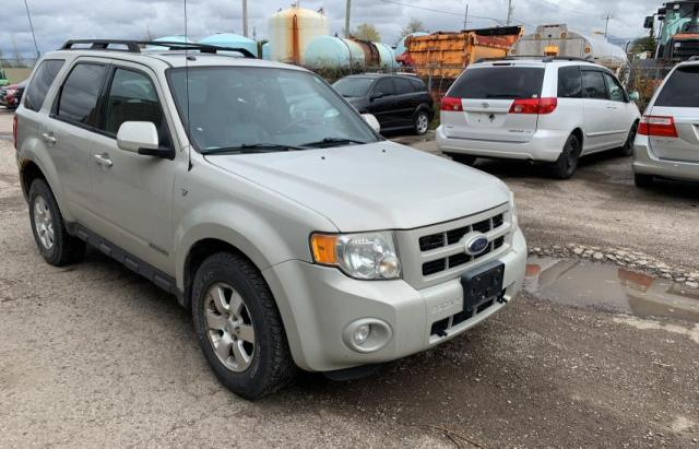 Salvage cars for sale from Copart London, ON: 2008 Ford Escape LIM