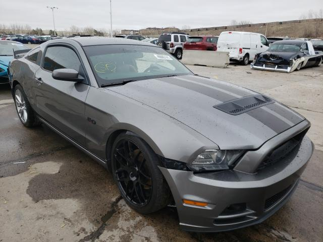 Salvage cars for sale from Copart Littleton, CO: 2013 Ford Mustang GT
