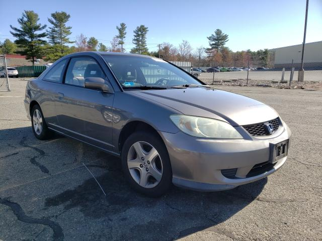 Salvage cars for sale from Copart Exeter, RI: 2005 Honda Civic EX