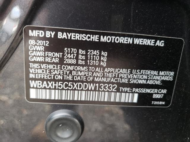 2013 BMW 528 XI WBAXH5C5XDDW13332
