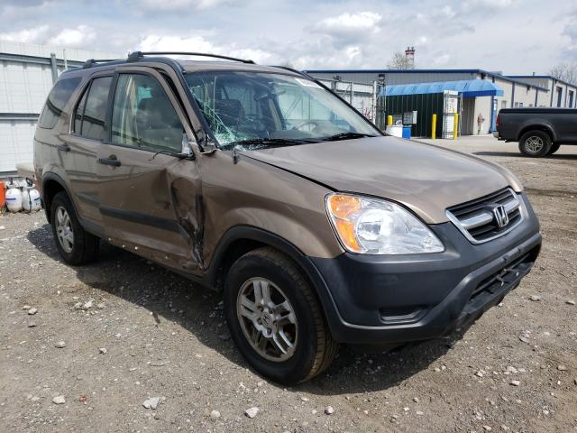 Salvage cars for sale from Copart Finksburg, MD: 2004 Honda CR-V EX