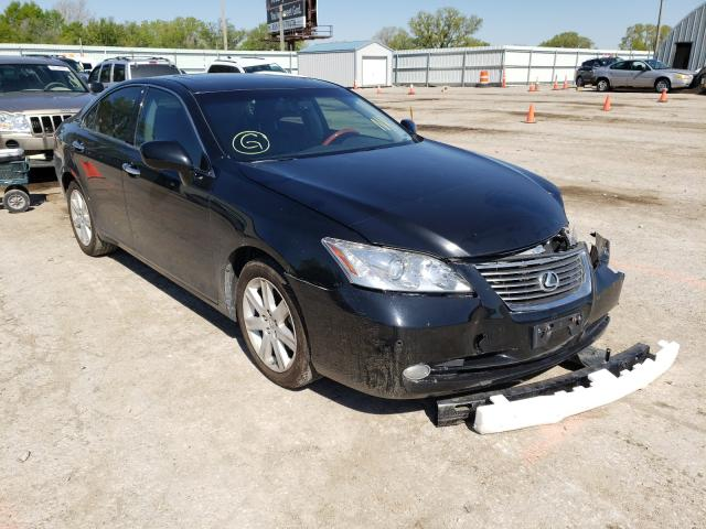 Salvage cars for sale from Copart Wichita, KS: 2007 Lexus ES 350