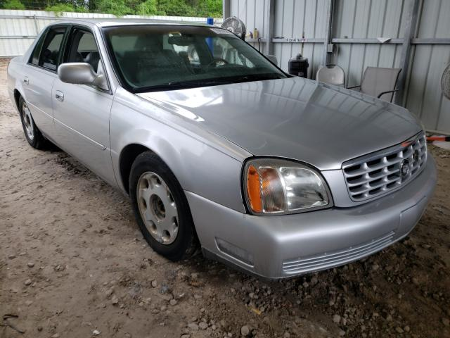 Salvage cars for sale from Copart Midway, FL: 2001 Cadillac Deville DH