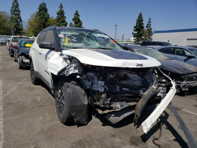 Salvage cars for sale from Copart Rancho Cucamonga, CA: 2020 Jeep Compass TR