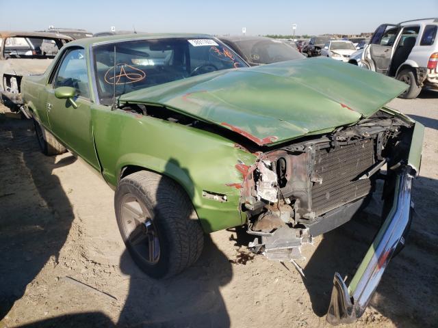 Salvage 1985 CHEVROLET EL CAMINO - Small image. Lot 38911601