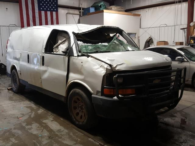 Salvage cars for sale from Copart Billings, MT: 2013 Chevrolet Express G1