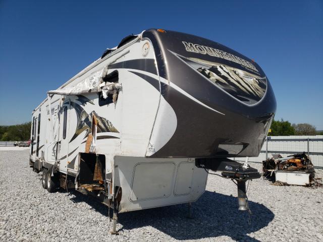 Keystone Montana salvage cars for sale: 2013 Keystone Montana