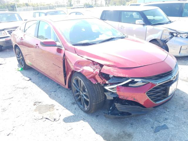Salvage cars for sale from Copart Bridgeton, MO: 2021 Chevrolet Malibu LT
