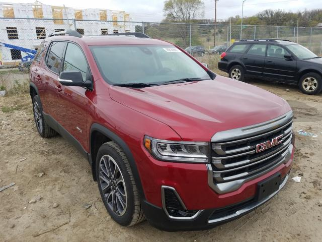 Salvage cars for sale from Copart Madison, WI: 2020 GMC Acadia AT4