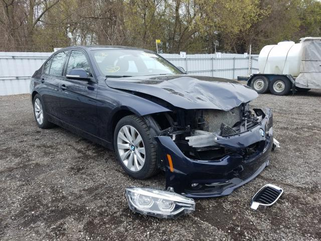 Salvage cars for sale from Copart London, ON: 2017 BMW 330 XI
