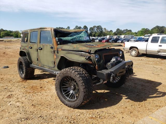 Salvage cars for sale from Copart Longview, TX: 2018 Jeep Wrangler U