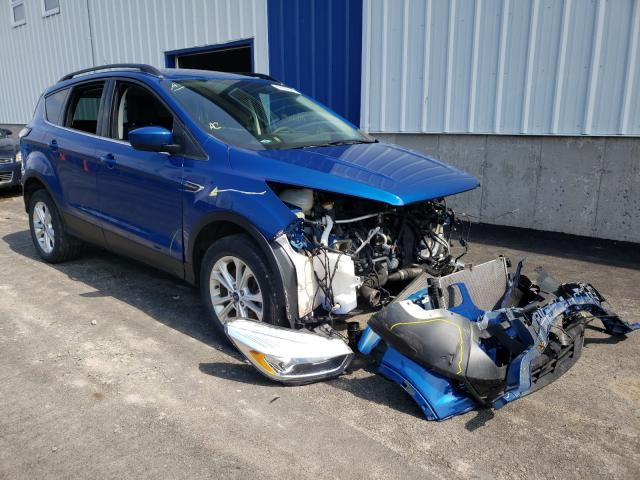 Salvage cars for sale from Copart Atlantic Canada Auction, NB: 2017 Ford Escape SE
