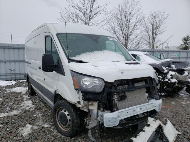 Salvage cars for sale from Copart Ontario Auction, ON: 2018 Ford Transit T