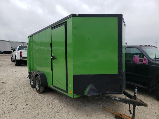 Cargo Trailer salvage cars for sale: 2019 Cargo Trailer