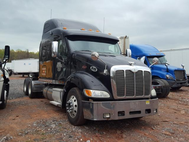 Salvage trucks for sale at York Haven, PA auction: 2007 Peterbilt 387