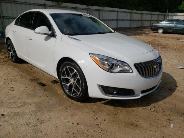 Salvage cars for sale from Copart Midway, FL: 2017 Buick Regal Sport