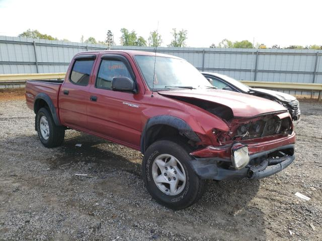 Salvage cars for sale from Copart Chatham, VA: 2004 Toyota Tacoma DOU