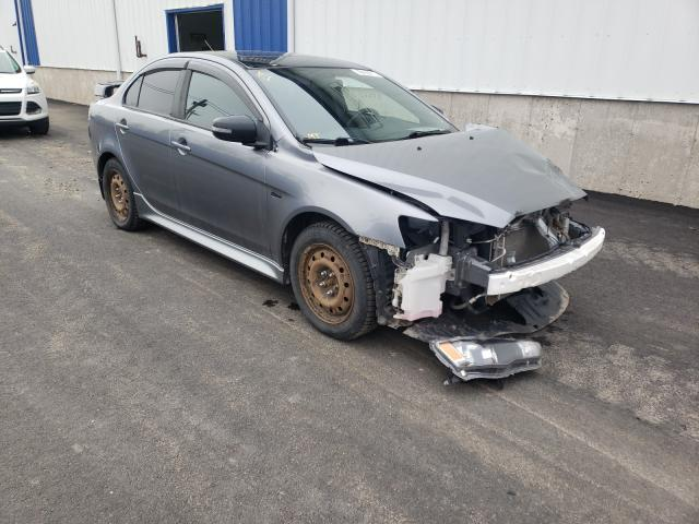 Salvage cars for sale from Copart Atlantic Canada Auction, NB: 2017 Mitsubishi Lancer ES