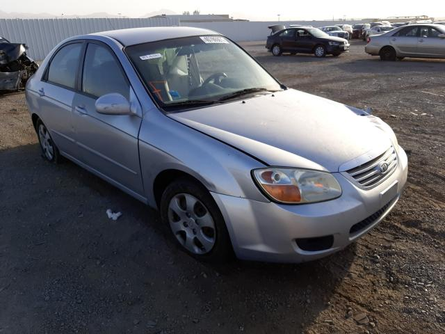 Salvage cars for sale at Las Vegas, NV auction: 2007 KIA Spectra EX