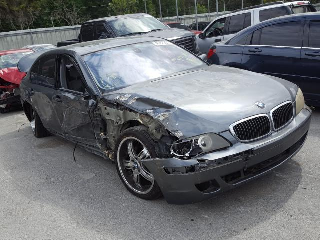 Salvage cars for sale from Copart Savannah, GA: 2007 BMW 750