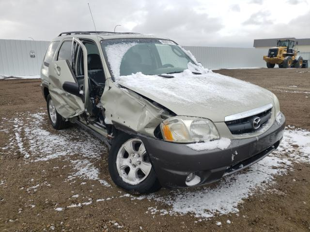 Mazda Tribute salvage cars for sale: 2003 Mazda Tribute