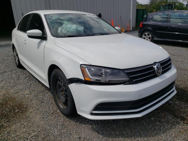 Salvage cars for sale from Copart Jacksonville, FL: 2017 Volkswagen Jetta S