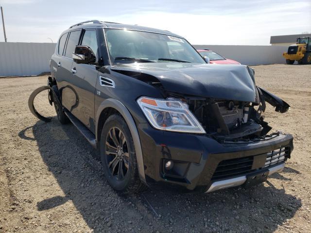 Vehiculos salvage en venta de Copart Bismarck, ND: 2018 Nissan Armada PLA