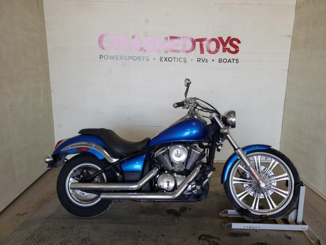 Salvage cars for sale from Copart China Grove, NC: 2007 Kawasaki Vulcan 900