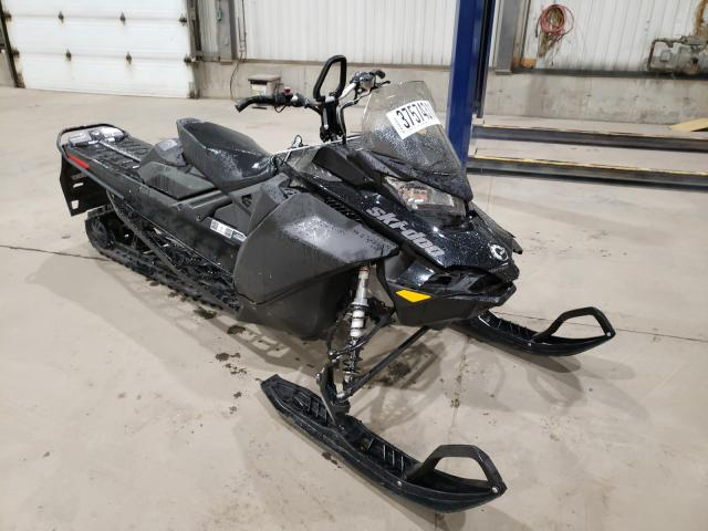 Salvage cars for sale from Copart Montreal Est, QC: 2021 Skidoo Backcountr