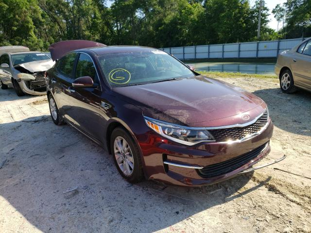 Salvage cars for sale from Copart Ocala, FL: 2018 KIA Optima LX