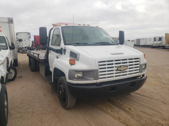 Salvage cars for sale from Copart Albuquerque, NM: 2008 Chevrolet C5500 C5C0