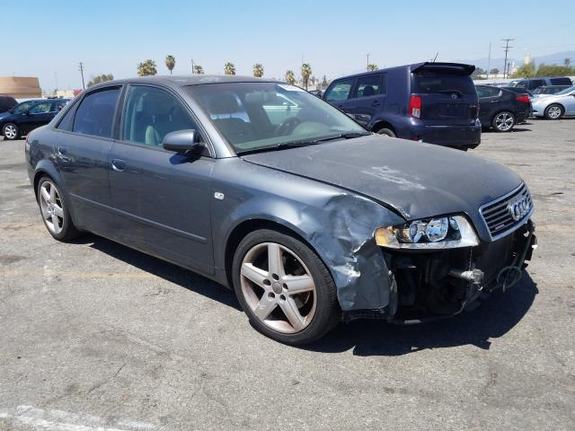 Salvage cars for sale from Copart Colton, CA: 2004 Audi A4 1.8T Quattro