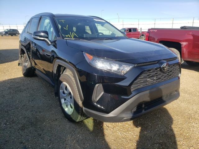 Salvage cars for sale from Copart Nisku, AB: 2019 Toyota Rav4 LE